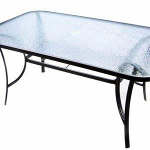 skleněný stůl Garth