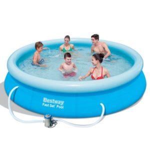 Samostavěcí bazén s filtrací