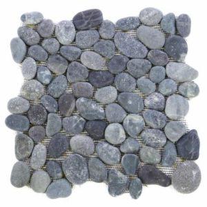 Mozaika Garth - říční oblázky