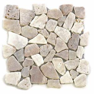Mozaika říční kámen