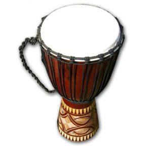 Africký buben Djembe z Mahagonu