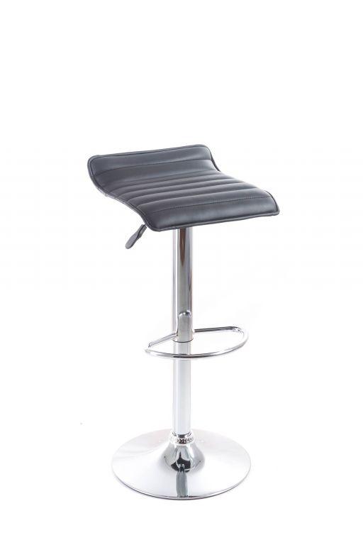 Koženková barová židle