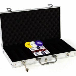 Hliníkový kufr na pokerové žetony