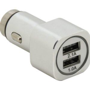 Kovový adaptér na nabíjení USB